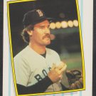Boston Red Sox Wade Boggs 1987 Fleer League Leaders Baseball Card # 3 nr mt