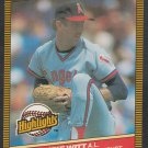 California Angels Mike Witt 1986 Donruss Highlights 38 Pitcher of the Month nm