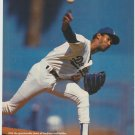 Los Angeles Dodgers Ramon Martinez Throwing Heat 1991 Pinup Photo 8x10