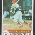 Boston Red Sox Carlton Fisk 1979 Topps Baseball Card 680 nr mt