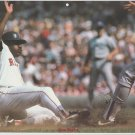 Boston Red Sox Don Baylor Sliding To the Base at Fenway Park 1988 Pinup Photo 8x10