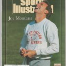 1990 Sports Illustrated 49ers Joe Montana Detroit Red Wings Buffalo Bills New York Giants Rodeo