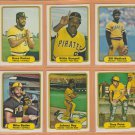 1982 Fleer Pittsburgh Pirates Team Set Willie Stargell Bill Madlock Dave Parker Johnny Ray RC Pena