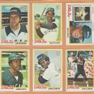 1978 Topps Chicago White Sox Team Lot 29 diff Bob Lemon Ralph Garr Chet Lemon Steve Stone