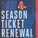 Boston Red Sox 2017 Season Ticket Holder Renewal Folio Mookie Betts