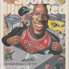 1995 Sports Illustrated Chicago Bulls Michael Jordan Boston Celtics Reggie Lewis New York Giants