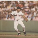 Boston Red Sox Marty Barrett Tracking A Ground Ball At Fenway Park 1987 Pinup Photo 8x!0