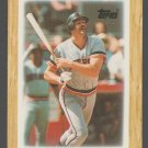 Detroit Tigers Kirk Gibson 1987 Topps Mini League Leader Baseball Card 53 nr mt
