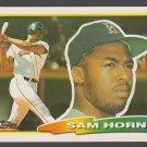 Boston Red Sox Sam Horn 1988 Topps Big Baseball Card 252 nr mt