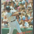 1990 Boston Red Sox Pocket Schedule Dwight Evans Swing Into The 90s WTAG 580 AM