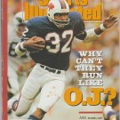 1990 Sports Illustrated Buffalo Bills OJ Simpson Boston Red Sox Roger Clemens Montreal Canadiens NHL