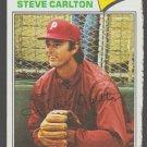 Philadelphia Phillies Steve Carlton 1977 Topps Baseball Card 110 good
