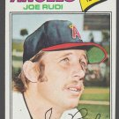 California Angels Joe Rudi 1977 Topps Baseball Card 155 ex