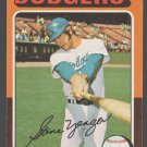 Los Angeles Dodgers Steve Yeager 1975 Topps Baseball Card 376 ex