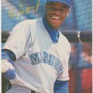 Seattle Mariners Ken Griffey At The Batting Cage 1992 Pinup Photo 8x10