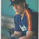 Houston Astros Jeff Bagwell 1992 Pinup Photo 8x10