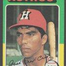 Houston Astros Jose Cruz 1975 Topps Baseball Card 514 vg+