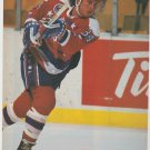 Washington Capitals Al Iafrati Blasting A Slap Shot 1993 Pinup Photo 8x10