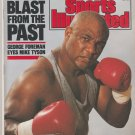 1989 Sports Illustrated Wimbledon Boxing George Foreman MLB Report Pikes Peak