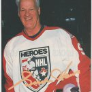 Detroit Red Wings Gordie Howe Heroes Of The NHL 1993 Pinup Photo 8x10