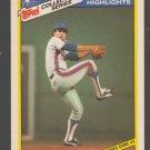 New York Mets Bob Ojeda 1986 World Series Game 3 1987 Topps Collectors Series Baseball Card 24