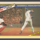 New York Mets Len Dykstra 1986 World Series Game 3 1987 Topps Collectors Series Baseball Card 23