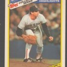 Boston Red Sox Bruce Hurst 1986 World Series Game 3 1987 Topps Collectors Series Baseball Card 19