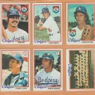 1978 1979 Topps Los Angeles Dodgers Team Lot 30 Steve Garvey Ron Cey Don Sutton Tommy John