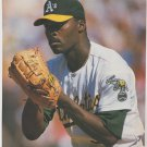 Oakland Athletics Dave Stewart Getting The Sign 1992 Pinup Photo 8x10