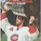 Montreal Canadiens Patrick Roy Stanley Cup Philadelphia Flyers Eric Lindros 1993 Pinup Photos 8x10