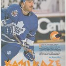 Toronto Maple Leafs Glenn Anderson Kamikaze 1993 Pinup Photo 8x10