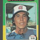 Atlanta Braves Marty Perez 1975 Topps Baseball Card 499 ex