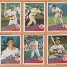 1985 Topps Boston Red Sox Team Lot Jim Rice Wade Boggs Jerry Remy Tony Armas +