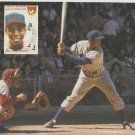 (2) Chicago Cubs Ernie Banks & San Francisco Giants Willie Mays Pinup Photos 8x10