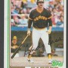 San Diego Padres Randy Bass Rookie Card RC 1982 Topps Baseball Card 307 nr mt