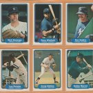 1982 Fleer New York Yankees Team Lot Dave Winfield Rich Gossage Ron Guidry Bobby Murcer Nettles