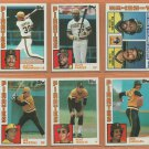 1984 Topps Pittsburgh Pirates Team Lot Dave Parker Bill Madlock Johnny Ray John Candelaria