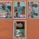 1983 Topps St Louis Cardinals Team Lot Ozzie Smith Keith Hernandez George Hendrick Bruce Sutter