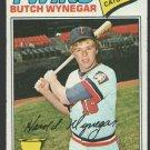 Minnesota Twins Butch Wynegar 1977 Topps Baseball Card 175 vg/ex