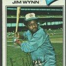 Atlanta Braves Jim Wynn 1977 Topps Baseball Card 165 vg