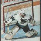 San Jose Sharks Arturs Irbe Flashing The Blocker 1994 Pinup Photo