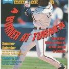 Atlanta Braves Kenny Lofton Swatting Another Hit 1997 Pinup Photo 8x10