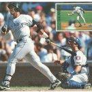 Colorado Rockies Andres Galarraga Stroking A Long Ball 1997 Pinup Photo 8x10
