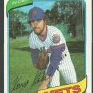 New York Mets Kevin Kobel 1980 Topps Baseball Card 189 nr mt