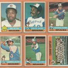 1976 Topps Atlanta Braves Team Lot 26 diff Ralph Garr Jim Wynn Darrell Evans Clarence Gaston +