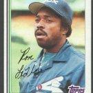 Chicago White Sox Ron LeFlore 1982 Topps Baseball Card 140 nr mt