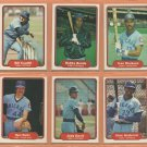 1982 1983 Fleer Chicago Cubs Team Lot 23 Bobby Bonds Ivan DeJesus Bill Caudill
