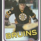 Boston Bruins Ray Bourque 1981 Topps Hockey Card 5 2nd year nr mt
