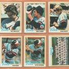 1978 Topps Minnesota Twins Team Lot Set 23 Rod Carew Dave Golts Butch Wynegar Gene Mauch