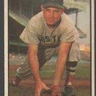 Boston Red Sox Johnny Lipon 1953 Bowman Color Baseball Card 123 g/vg